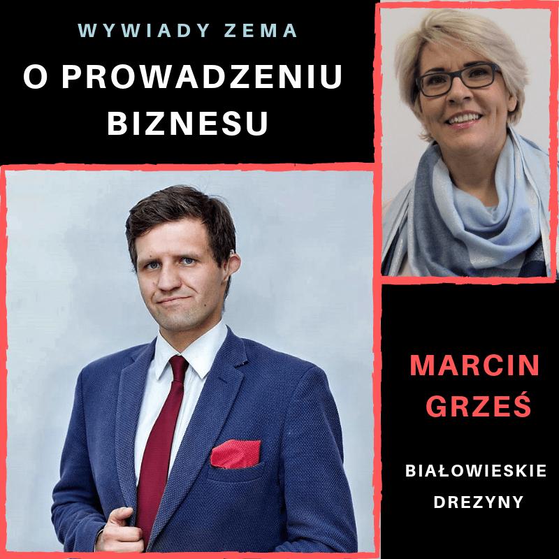 Ewa Szpakowicz ZEMA wywiad z Marcin Grześ Białowieskie Drezyny