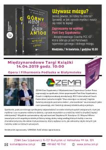 Międzynarodowe Targi Książki Ewa Szpakowicz