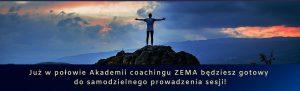 Akademia coachingu ZEMA gotowość do prowadzenia sesji